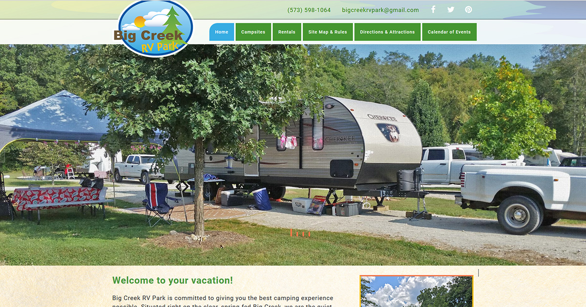 Full hookup rv camping near me